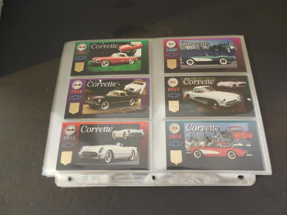 Complete Set 90 Heritage Corvette Cards NM