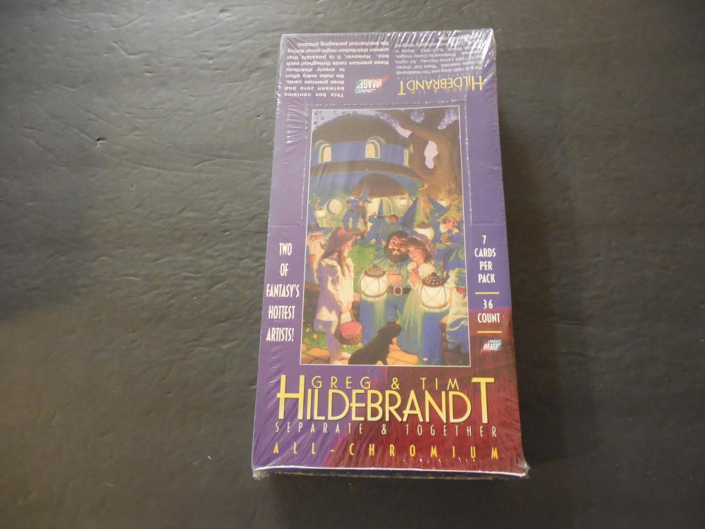 Sealed Box Of Greg And Tim Hildebrandt Separate And Together 1995