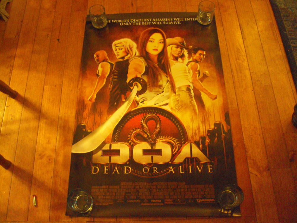 doa dead or alive movie poster