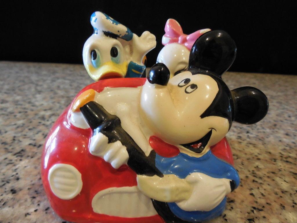 Disney Mickey Mouse Ceramic Car 3
